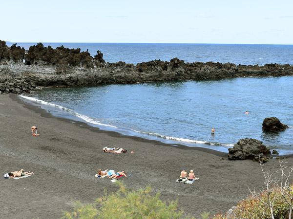 Beach on La Palma island